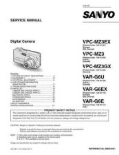 Buy Sanyo Service Manual For VPC-MZ3EX by download #176298