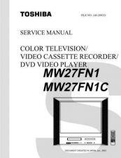 Buy TOSHIBA MW27FN1 SVCMAN Service Schematics by download #160329