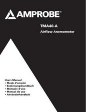Buy Amprobe TMA40A Operating Guide User Instructions by download Mauritron #194637