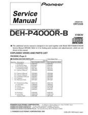 Buy PIONEER C2339 Service Data by download #148847