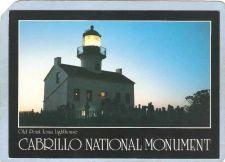 Buy CA San Diego Lighthouse Postcard Old Spanish Lighthouse Point Loma lightho~42