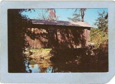 Buy AL Livingston Covered Bridge Postcard Bellamy Bridge World Guide Number co~8