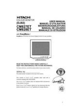 Buy Sanyo CM827ET IT Manual by download #173660