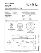 Buy INFINITY RS 7 TS Service Manual by download #151416