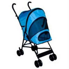 Buy Pet Gear Travel Lite Pet Stroller Ocean Blue