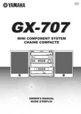 Buy Yamaha GX-707 Owners Manual User Guide Operating Instructions by download Mauri