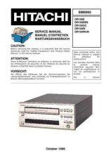 Buy HITACHI SM 0093E Service Data by download #147452