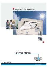 Buy MINOLTA Konica minolta qms pagepro 9100 servicemanual by download #138178