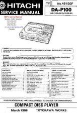 Buy HITACHI DAP100 by download #126374