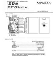Buy KENWOOD LS-DV9 Technical Info by download #148273