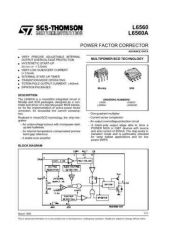 Buy SEMICONDUCTOR DATA L6560J Manual by download Mauritron #188555