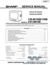 Buy Sharp 13NM100-M150-CN13M10 SM GB Manual.pdf_page_1 by download #177703