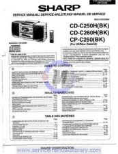 Buy Sharp CDC421H-C411H SM GB(1) Manual by download #179900