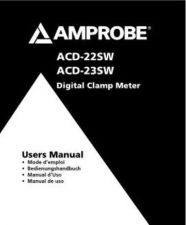 Buy Amprobe ACD10HSUPER User Instructions Operating Guide by download Mauritron #19
