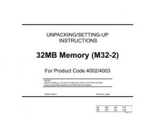 Buy Minolta M32 2UNPACK Service Schematics by download #137524
