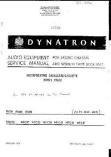 Buy Dynatron RG89 14734 Service Manual by download #153810