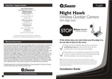 Buy Swann SW243-8N8 USER MANUAL Instructions by download #180988