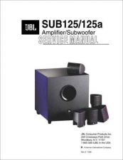 Buy INFINITY SCS125 SUB SM Service Manual by download #151502
