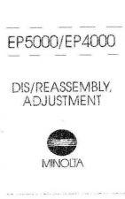 Buy Minolta DISREASSEMBLYADJ Service Schematics by download #137485