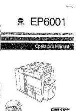 Buy Minolta EP6001 OPSEP6001 Service Schematics by download #138097
