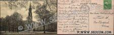 Buy CT Norwalk Postcard Congregational Church On The Green ct_box4~2273