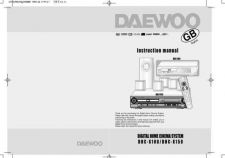 Buy Deewoo DHC-X150E (E) Operating guide by download #167543