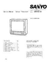 Buy SANYO CBP2162 COLOUR TV SERVICE MANUAL CDC-1409 by download #157404