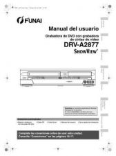 Buy Funai DRV-A2877 E9703ED SP 0530 BR3 Owners User Guide Operating by download #162