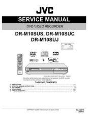 Buy JVC DR-M10SUS Service Schematics by download #155494
