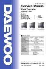 Buy Daewoo DTQ27S3FC Manual by download Mauritron #184078