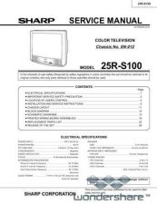 Buy Sharp 25RS100 SM GB Manual.pdf_page_1 by download #177977