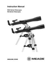 Buy Meade NG NGC new Instruction Manual by download Mauritron #194779