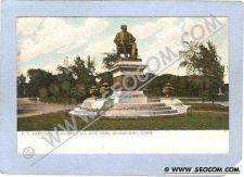 Buy CT Bridgeport P T Barnums Monument Seaside Park Outline w/Silver Sparkles ~196