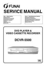 Buy Funai DCVR-5500 (H97L0FD) SERVICE MANUAL Manual by download Mauritron #185132