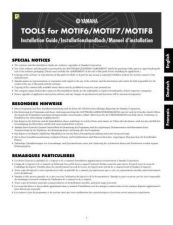 Buy Yamaha MOTIFESE1 Operating Guide by download Mauritron #203865