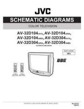 Buy JVC AV-32D104sch Service Schematics by download #155353