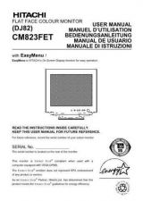 Buy Sanyo CM821FET IT Manual by download #173650