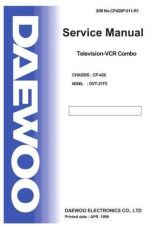 Buy Daewoo 21F2T2 (E) Service Manual by download #154608