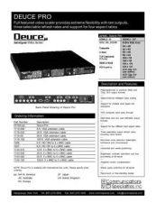 Buy COMMUNICATIONS SPECIALITIES INC SS-2210A by download #120042