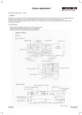Buy Philips LG Panel COLOUR ADJUSTMENT P37-43 Service Schematics by download #157170