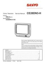 Buy SANYO CE28DN5F-C EB6-A Service Data by download #133485