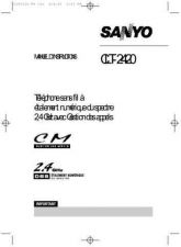 Buy Sanyo CLT-583 Manual by download #173377