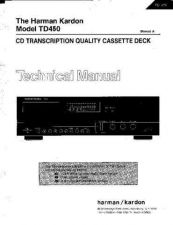 Buy INFINITY TD450 SM Service Manual by download #147881