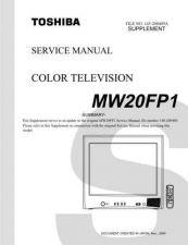 Buy TOSHIBA MW20FP1SUM Service Schematics by download #160302