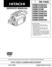 Buy Hitachi DZMV208EAU Manual by download Mauritron #186056
