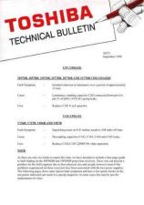 Buy TOSHIBA TECH BULLETIN AH72 by download #131997