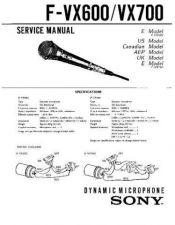 Buy SONY FS-85B3 Service Manual by download #166816