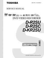 Buy TOSHIBA DR2SU DR2SC DRK2SUSVM ON by download #129430