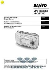 Buy Sanyo VPC-S4 Manual.pdf_page_1 by download #177581