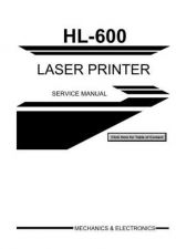 Buy Brother SM 600 Service Schematics by download #134863
